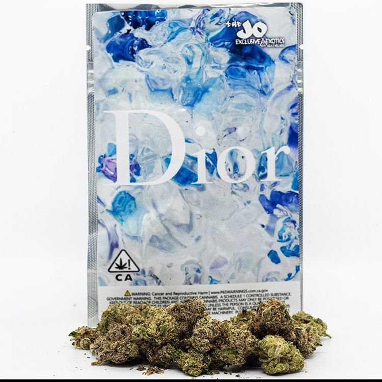 Rappers Dior weed strain